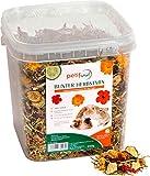 petifool Alimento complementario para roedores Colorido Mezcla otoñal, alimento Natural y Saludable para Conejos, 1 Unidad (1 x 650 g)