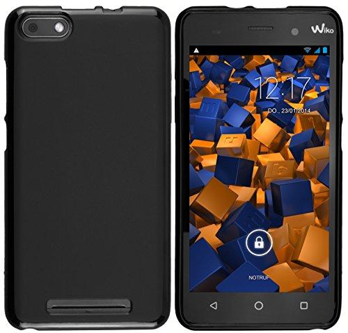 mumbi Hülle kompatibel mit Wiko Lenny 3 Handy Case Handyhülle, schwarz
