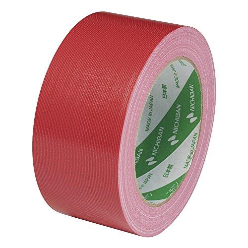 ニチバン 布テープ 50mm×25m巻 1211-50 赤