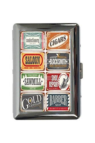 pitillera cigarrera Oficina Hogar Barber Herrero impreso Profesional Título