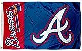 Atlanta Braves Logo Team Flag 3x5 - With 2 Grommets