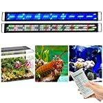 Lumiereholic-Dimmbar-LED-Aquarium-Beleuchtung-mit-Zeitsteurung-Aquarium-Lampe-Fisch-Tank-SMeerwasser-voll-Spectrum-Reef-Coral-Fish-Wasserpflanzen-Aquariumleuchte-Aufsetzleuchte-150-180CM