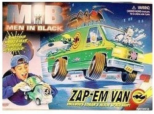 Men In negro movie Zap 'Em Van with Edgar's spaceship by Galoob