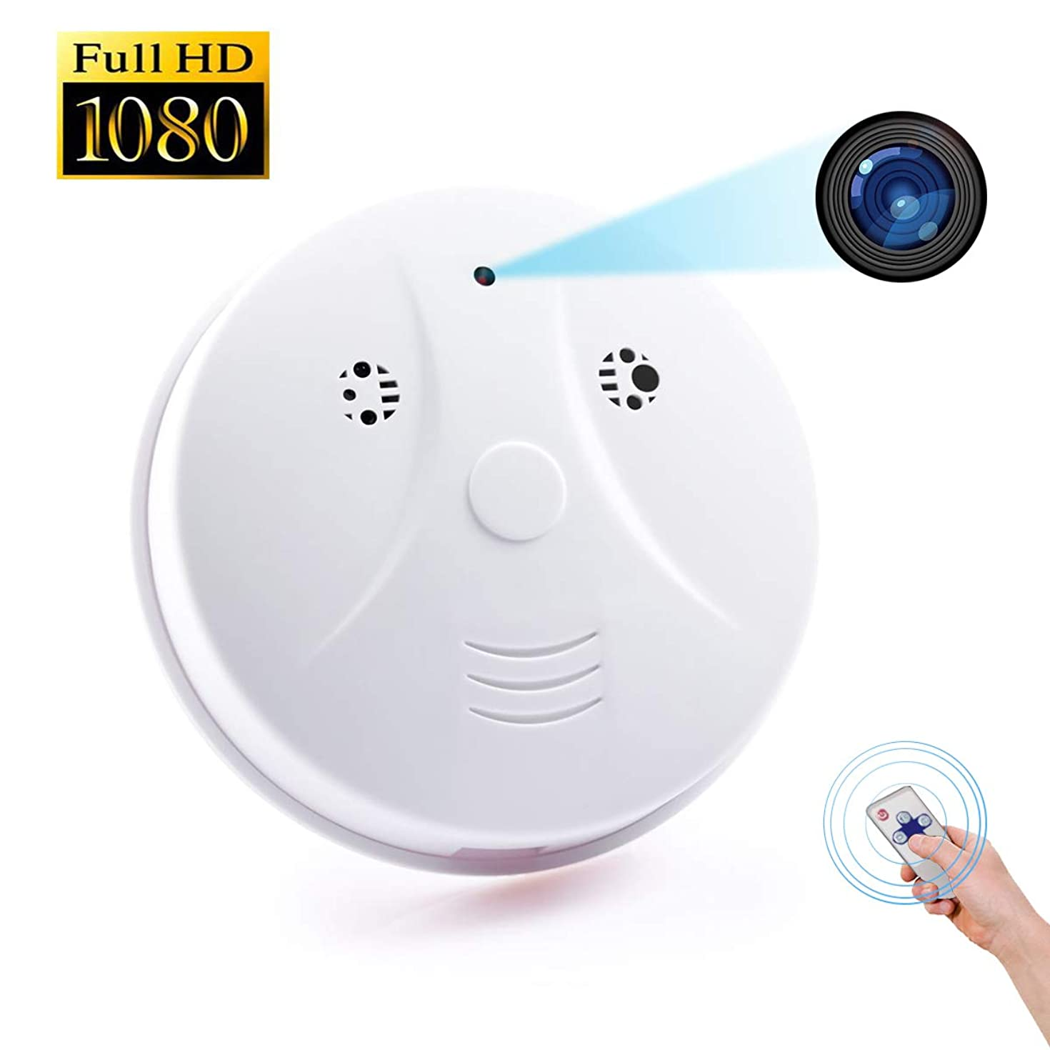 Littleadd Hidden Camera Detector [2019 Upgraded]-1080P HD Spy Camera Motion Activated Video Recording Remote Control Security Camera Nanny Cam