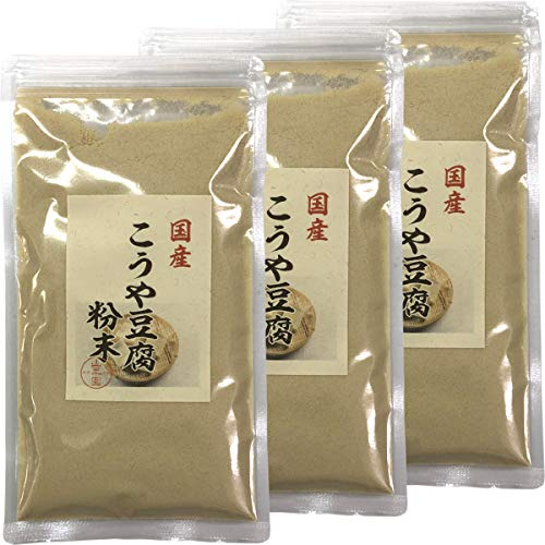 【国産】高野豆腐 粉末 150g×3袋セット 巣鴨のお茶屋さん 山年園