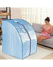 1000W, Infrarood sauna, Draagbare sauna, Home sauna, 4 infrarood verwarmingsplaten + 36 toermalijnsteen