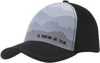 قبعة سائق الشاحنات ميستي صبينج 5 لوحات من هيدستس، أسود، مقاس واحد