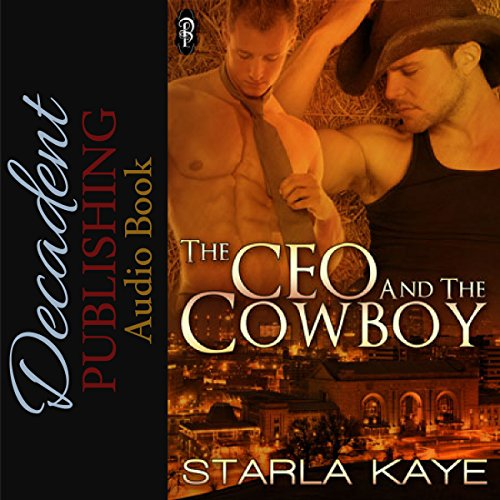The CEO and the Cowboy audiobook cover art