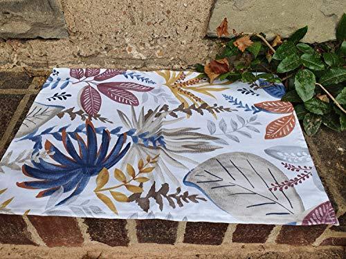 LIVING DREAMS Tischläufer Mitteldecke Tischset Acapulco, Multi, Größe:Mitteldecke 80 x 80 cm