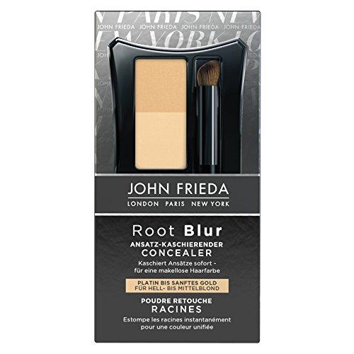 John Frieda Root Blur Ansatz-kaschierender Concealer - Platin bis sanftes Gold für Hell-...