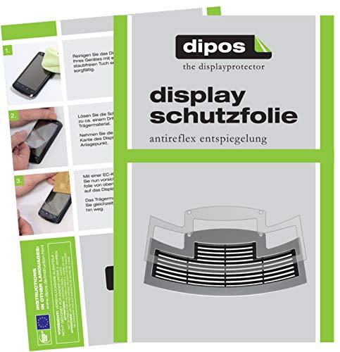 dipos I 2X Schutzfolie matt kompatibel mit Jura E60 ab 2015 Tropfblech Folie Displayschutzfolie