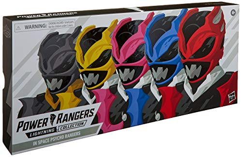 Power Rangers Lightning Collection 6-Inch in Space Psycho Rangers 5-Pack Premium Collectible Action Figure Toys with Accessories (Amazon Exclusive)