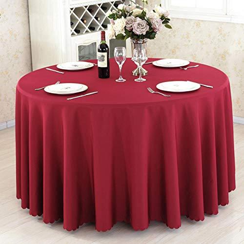 JYMJL Tafelkleed Hotel Tafelkleed Rechthoekige Conferentie Tafelkleed Roze Rijst Witte Wijn Rood Effen Kleur Tafelkleed Ronde Tafel Koffie Tafelkleed Tafelkleed