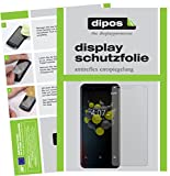 dipos I 2X Schutzfolie matt kompatibel mit Allview A9 Plus Folie Bildschirmschutzfolie