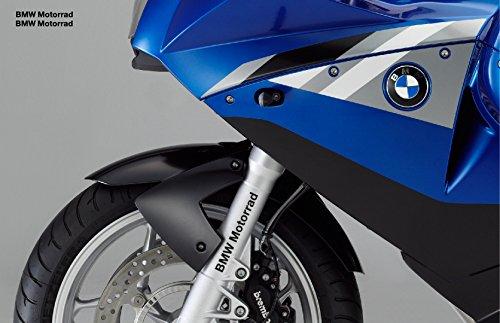 snstyling.com Pegatina para Encajar BMW Motorrad Pegatina 15cm 2 Piezas Conjunto (Negro)