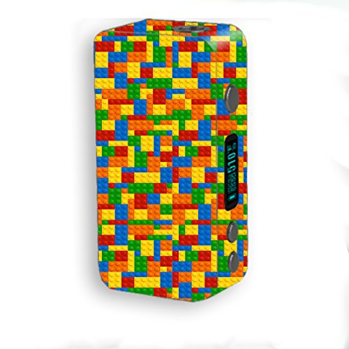 Skin Decal Vinyl Wrap for Smok Kooper Plus 200W Vape Mod Skins Stickers Cover / Building Blocks
