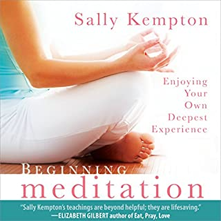 Beginning Meditation cover art