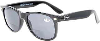 Eyekepper Lunettes Bifocal - Lunettes de vue combine lunettes solaires(2 utilisation) -Verres enveloppants Belle qualite -...