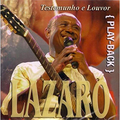CD Irmão Lázaro Testemunho e Louvor (Play-Back)