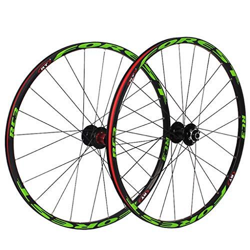 CHICTI 26'/27.5' Mountain Bike Wheels Mtb 120 Clicks 5 Peilin Sealed Bearing Disc Bicycle Wheel Wheelset Outdoor