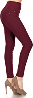 Premium Quality Cotton Blend Stretch Jeggings with 2 Pockets