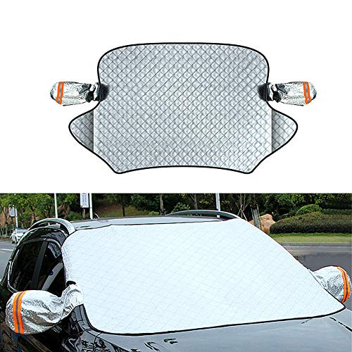 NEPCT Sonnenschutz Auto Windschutzscheibe Auto Sonnenschutz Frontscheibe Innen Auto-Sonnenschutz für Baby Autofensterblenden Auto-Sonnenschutzmittel a,Free Size