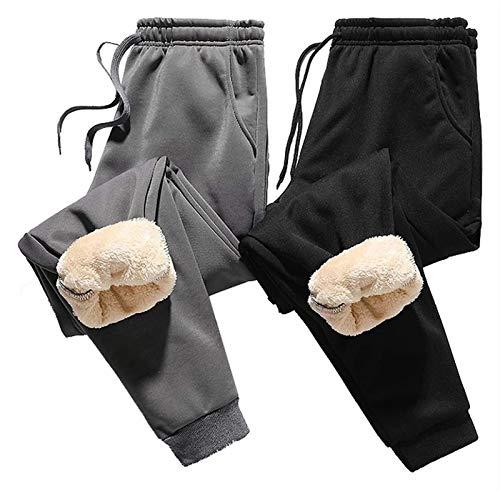 CRXL shop-Mantas Eléctricas 2 Piezas De Pantalones De Lana De Invierno para Hombre, Pantalones Deportivos con Forro De Sherpa (Size : M)
