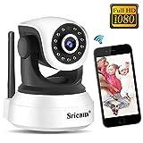 Cámara WiFi Vigilancia Sricam SP017, Cámara IP 1080P Bebe...