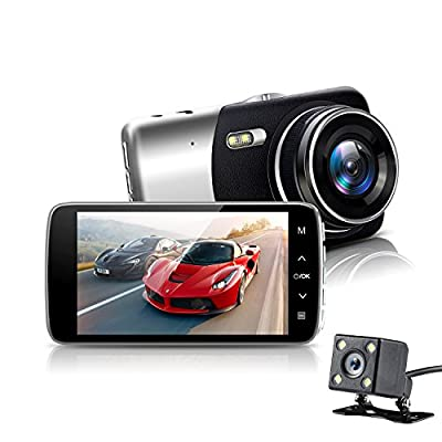 2.4 Inch Dash Cam for Car HD DVR Vehicle Video Recorder Camera with Night Vision & G-Sensor & Parking Monitoring