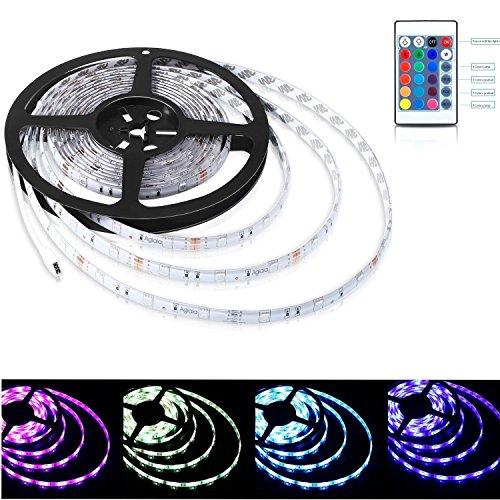 Aglaia Tira LED de Luz RGB 5M, 150...
