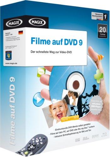 MAGIX Filme auf DVD 9 (Minibox)
