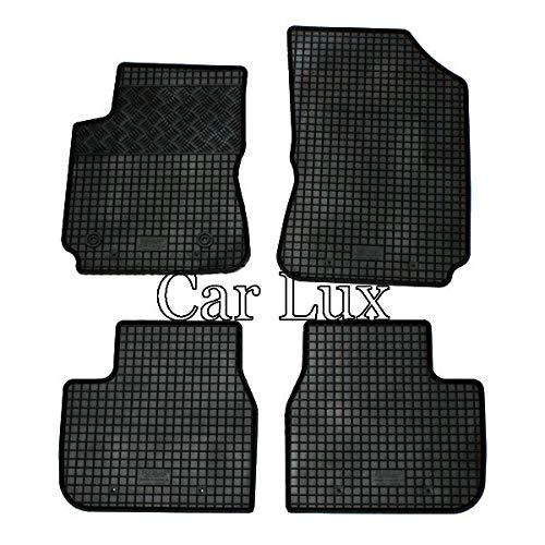 Car Lux AR05128 - Alfombras Alfombrillas de goma a medida para el C4 Cactus