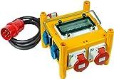 Brennenstuhl 1153660 - Distribuidor de corriente portátil compacto (BSV 3/32 FS, IP 44)