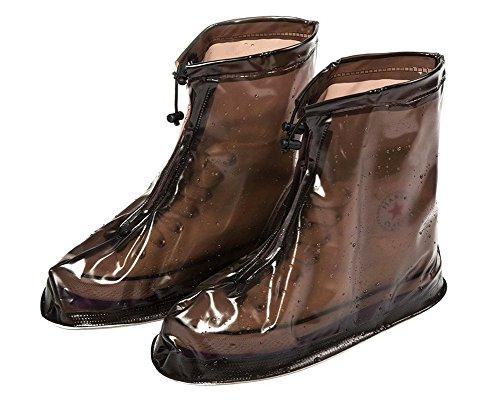 Eagsouni® Zapatos Cubiertas Impermeable Lluvia de Zapatos Botas Protectores Antideslizante Resistente al Desgaste para Mujere Hombre Moto Cicleta y Bicicleta