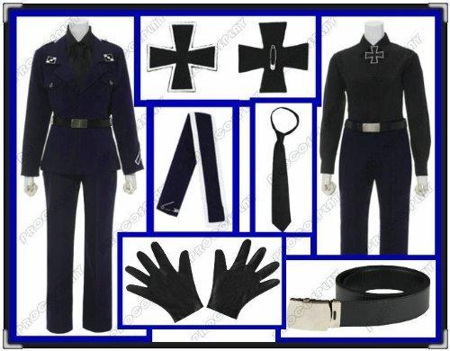 (Procosplay)axis Powers Hetalia(ahp) Prussia Cosplay Costumes