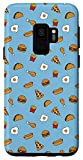 Galaxy S9 Fast Food Pizza Burger Fries Taco Omelet Chicken Drumstick Case