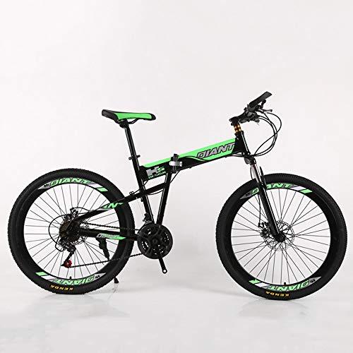 VANYA Adulto Plegable de cercanías Bicicletas 21 Velocidad de Choque