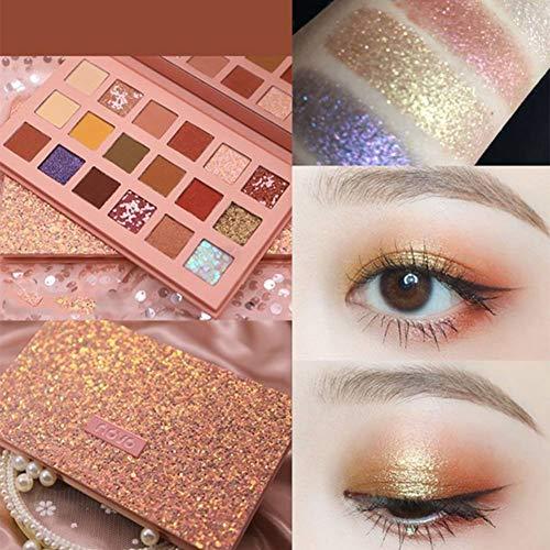 GUAN Make-up Lidschatten-Palette Student Anfänger Schönheit Matte Perlmutt Lidschatten