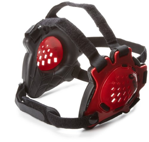 ASICS Conquest Earguard, Red/Black, One Size