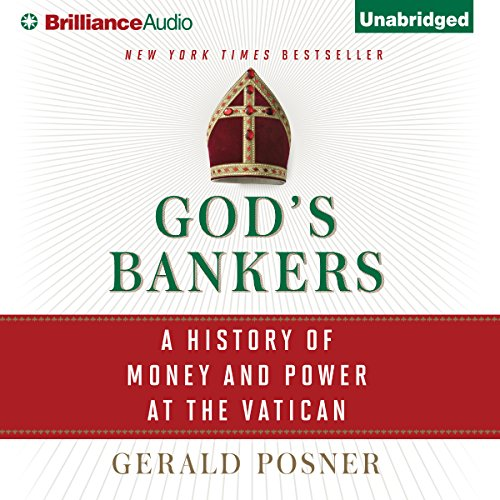 God's Bankers audiobook cover art