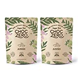 ChocZero's Keto Bark, Dark Chocolate Almonds with Sea Salt. Sugar Free, Low Carb. No Sugar Alcohols,...