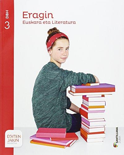 EUSKARA ETA LITERATURA ERANGIN 3 DBH EGITEN JAKIN - 9788498945782