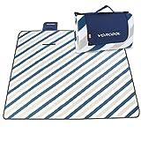VORCOOL Picknickdecke 200x200cm Wasserdicht mit Tragegriff für Picknicks