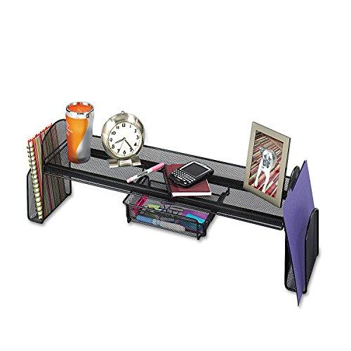 Onyx acero malla off-surface estante, cajón, 311/2x 71/4x 10, se vende como 1cada
