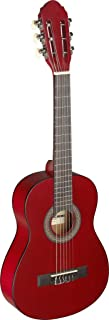 Stagg 6 String C405 M 1/4 Size Classical Guitar-Red