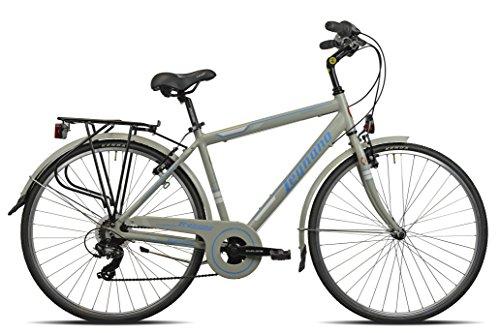Legnano Ciclo 445 Cesenatico, City Bike Uomo, Grigio, 52