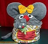 Kindersitzsack Maus mit Kuschelt...
