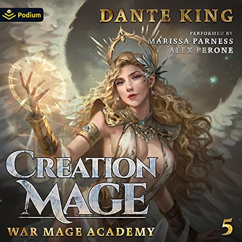 Creation Mage 5 Audiobook By Dante King cover art
