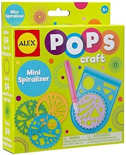protección post-venta ALEX Toys POPS POPS POPS Craft Mini Spiralizer by ALEX Toys  Entrega gratuita y rápida disponible.