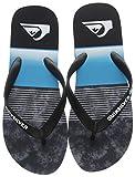 Quiksilver Molokai Slab-Sandals for Men, Zapatos de Playa y Piscina para Hombre, Negro...